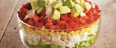 Looking for an easy salad to serve a crowd? Try this colorful combo that includes Green Giant® corn with a creamy dressing that gets its zip from Old El Paso® taco seasoning.