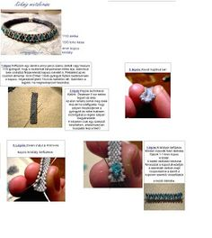 Ewa83 Pearls Blue stain pattern