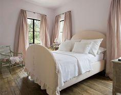 ♕ lovely upholstered bed ~ Pam Pierce Designs
