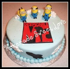 Despicable me By HomemadeSweetLove on CakeCentral.com