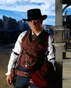 Anthony Starke AKA Ezra Standish of The Magnificent Seven (TV).....pretty sure he started my love of waist coats on guys lol