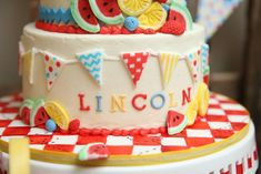 Lincoln's 1st Birthday!   CatchMyParty.com
