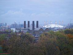 Greenwich Park's view, London