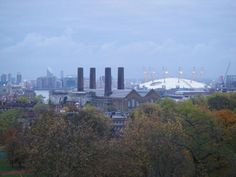 Greenwich Park's view, London
