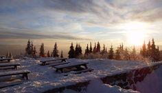 Západ slnka na Chate pod Chlebom - Kreabirdjobox freeride