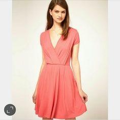 ASOS Dresses & Skirts - NEW Pink Jersey Tea Dress US 2