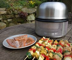 Does the Cobb oven real work? Will it change how we barbecue? We've tested this shiny camping kit on a menu of marinated trout and veggie and turkey kebabs. Oven Recipes, Grilling Recipes, Cobb Cooker, Cobb Bbq, Tailgate Food, Outdoor Cooking, Dining, Compact Living, Tiny Living