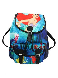 Disney The Little Mermaid Ariel Slouch Backpack   Hot Topic