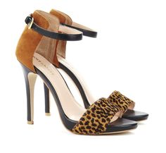 Animal Print Pumps.