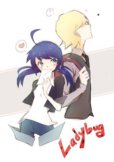 Miraculous Tales Of Ladybug And Cat Noir - Marinette and Felix