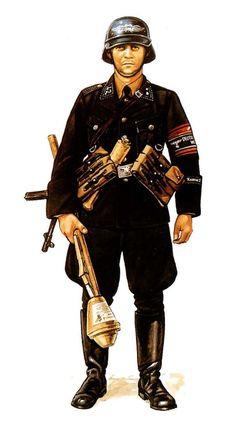 NCO Volkssturm 1945