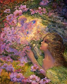 El Hada de las Rosas ♡ Josephine Wall                                                                                                                                                                                 More