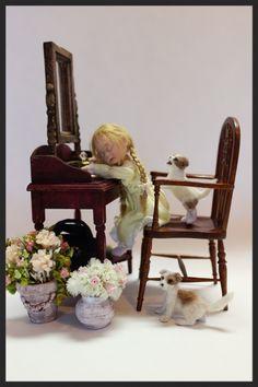 Sleeping child  Emmanuelle  by Pat Cabrera