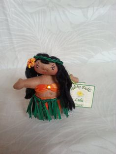 Aloha Doll Ornaments: Lulu (Peace) on Etsy