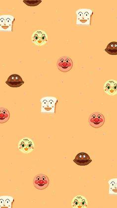 (★이웃 300명 기념★) 호빵맨 배경화면 1 : 네이버 블로그 Pastel Background Wallpapers, Cute Pastel Wallpaper, Cute Patterns Wallpaper, Wallpaper Iphone Cute, Textured Wallpaper, Cellphone Wallpaper, Cute Wallpapers, Cartoon Wallpaper, Wallpaper Space