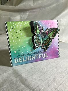 You are Delightful Card