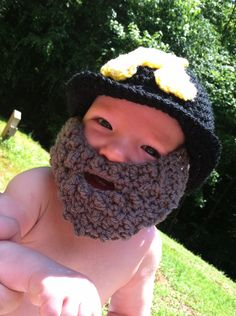 Baby Yosef the Mountaineer Hat w/ by HookLineandStinkers on Etsy