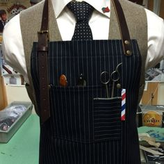barber apron by sartorandvillain on Etsy