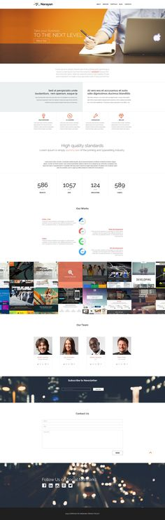 Narayan - WordPress Template