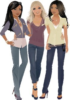 cartoon 3 girls - Google Search Create A Cartoon, Disney Characters, Fictional Characters, Google Search, Disney Princess, Girls, Toddler Girls, Daughters, Maids