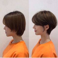 • hair만으로도 다른사람이~? 헤어스타일 전/후 : 네이버 블로그 Kpop Short Hair, Short Hair Tomboy, Korean Short Hair, Short Sassy Hair, Girl Short Hair, Short Hair Cuts, Tomboy Hairstyles, Pretty Hairstyles, Tomboy Haircut