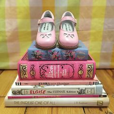 Feast your eyes on THE Magnificent Mary Janes!  They were designed behind the pink door & ready for all to adore!
