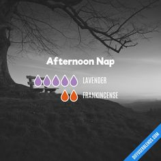 Afternoon Nap — Essential Oil Diffuser Blend