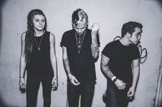 PVRIS. Saw them live, they blew me away, holy crap so talented. I saw them for the first time at PTV and SWS world tour<3