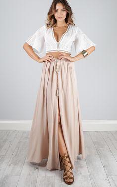 under the twilight maxi skirt