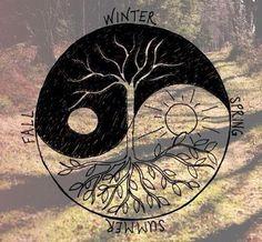 La naturaleza es nuestro equilibro, es él verdadero ying y yang