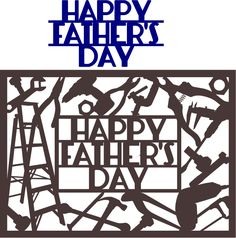 Free SVG & DFX Download - Happy Father's Day Card by Kabram Krafts