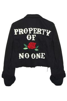 Property of No One Jacket