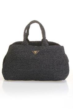 crochet bag / prada