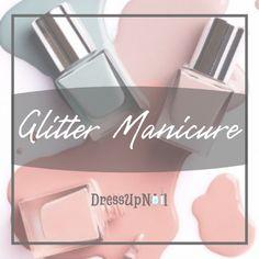 Glitter Manicure Kids Manicure, Short Nail Manicure, Black Manicure, Glitter Manicure, Uv Gel Nails, Gel Manicure, Stiletto Nails, Gradient Nails, Ombre French Nails