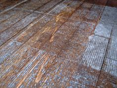 Remove Linoleum Glue By Pouring Boiling Water Over Floor And Let - Lift off floor removal