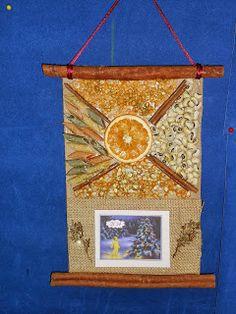 Το μαγικό κουτί της...Κατερίνας: Μύρισαν Χριστούγεννα και πάλι φέτος στην τάξη.... Christmas Crafts, Christmas Decorations, Xmas, Christmas Calendar, Diy And Crafts, Girly, Frame, Blog, Home Decor