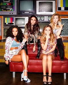 Little Mix-- Every single one of them are gorgeous, talented and amazing mentors! They have come so far:) Love you Perrie, Jesy, Jade, and Leigh-Anne!