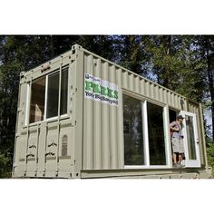 The Tolt Campground unveiled its first new Camping Container last September, an upcycled surplus shipping container that utilizes. King County, County Park, Shipping Container Design, Shipping Containers, Radiant Heat, Design Firms, Bunk Beds, Recreational Vehicles, Shed