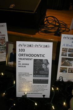 Classroom Charity Auction Item - Live Auction Item -Braces Donated Invisalign Braces, or Orthodontic treatment by Dr. George Nicolas.