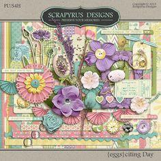 Digital Scrapbook Kit, {eggs}citing Day | Kit :: Full & Mini Kits :: Memory Scraps