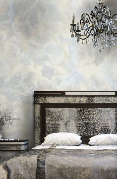 Silver Maverics in this bedroom