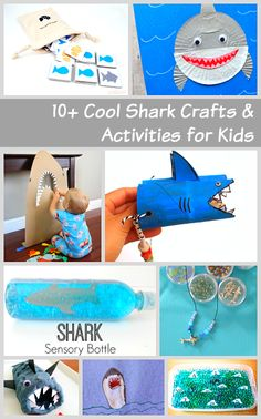 Over 10 Super Cool Shark Crafts and Activities for Kids (Perfect for Shark Week!)