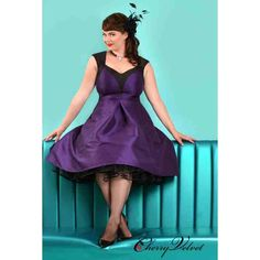 PRE-ORDER - Dita Dress (Purple and Black) $200.00 http://www.curvyclothing.com.au/index.php?route=product/product&path=95_151&product_id=10255