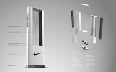 Nike Timing Point of Purchase on Behance