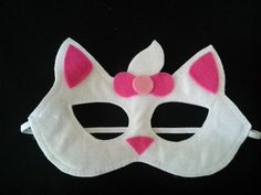 máscara gatinha marie e os aristogatas