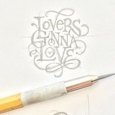 25 Magnificent Lettering & Calligraphy Designs | From up North
