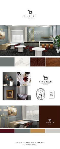 Modern British Bar, Restaurand and Lounge Design