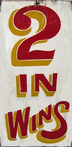 Carnival Game Signage
