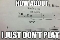 That moment you remember how a violist feels.  Every.  Time.