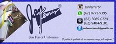 Facebook: Jon Ferrer Uniformes  https://www.facebook.com/jonferreruniformes